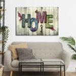 Tablou Canvas Home
