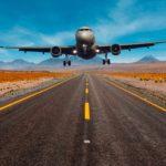 Tablou Canvas Landing Aeroplane.